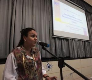 Em 2015 na UEPG palestra na Semana Pedagógica (Ponta Grossa / PR)