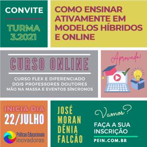 Inscrições abertas pein.com.br